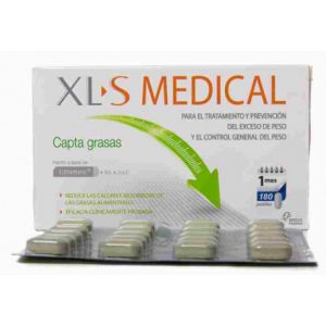 Salumet xls-medical-captagrasas-180-pastillas
